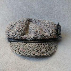 Scalapronto Newsboy Flower Hat